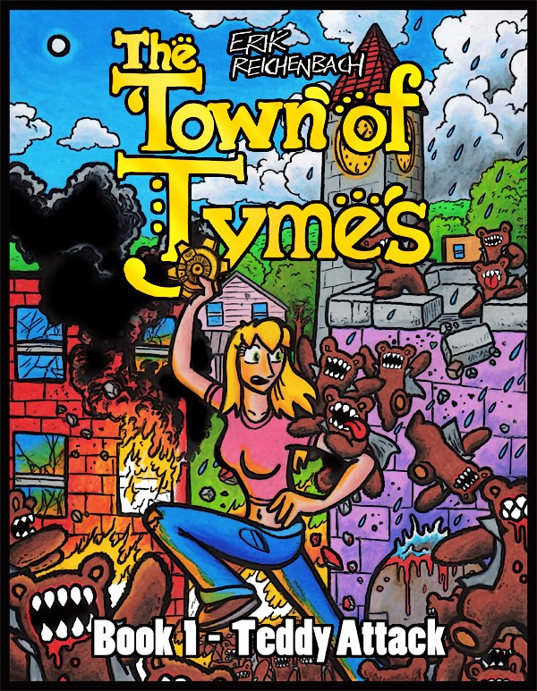 town of tymes erik reichenbach teddy comic book