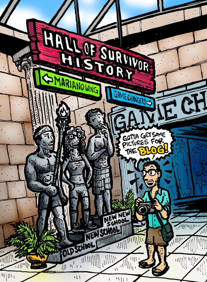 Dabu Doodles : Survivor Millenials vs. GenX Comic