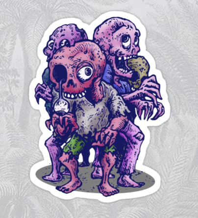 DabuDoodles RedBubble Stickers