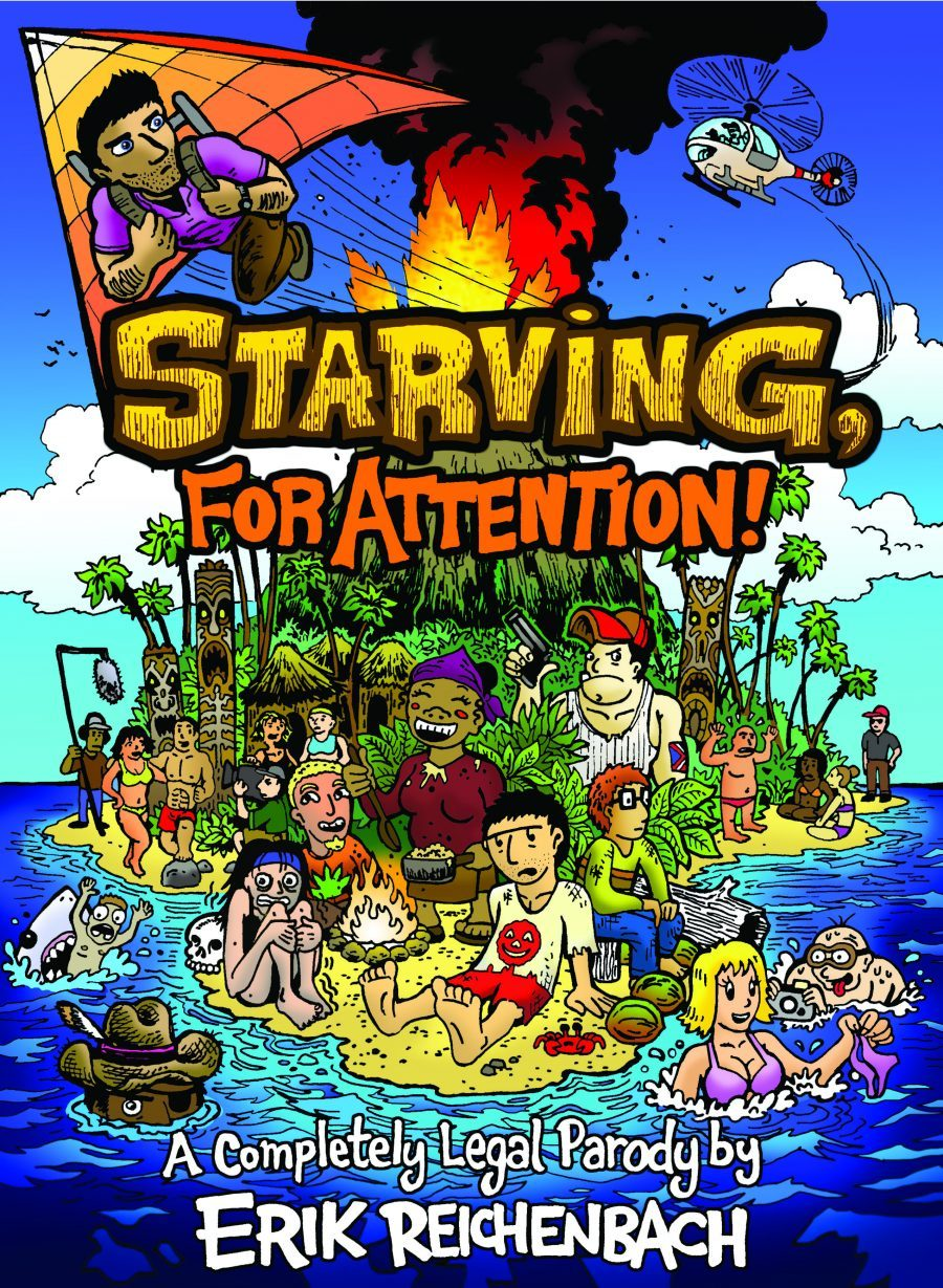 Dabu Doodles: Starving for Attention a Completely Legal Parody