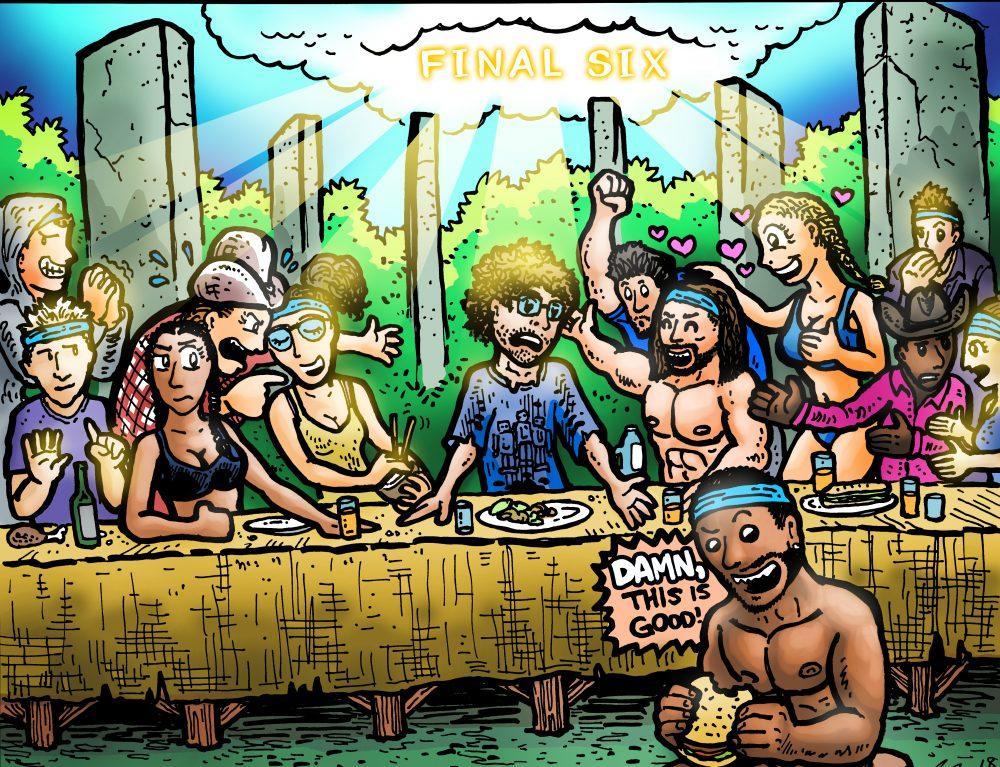 Dabu Doodles : Survivor Comic by Erik Reichenbach