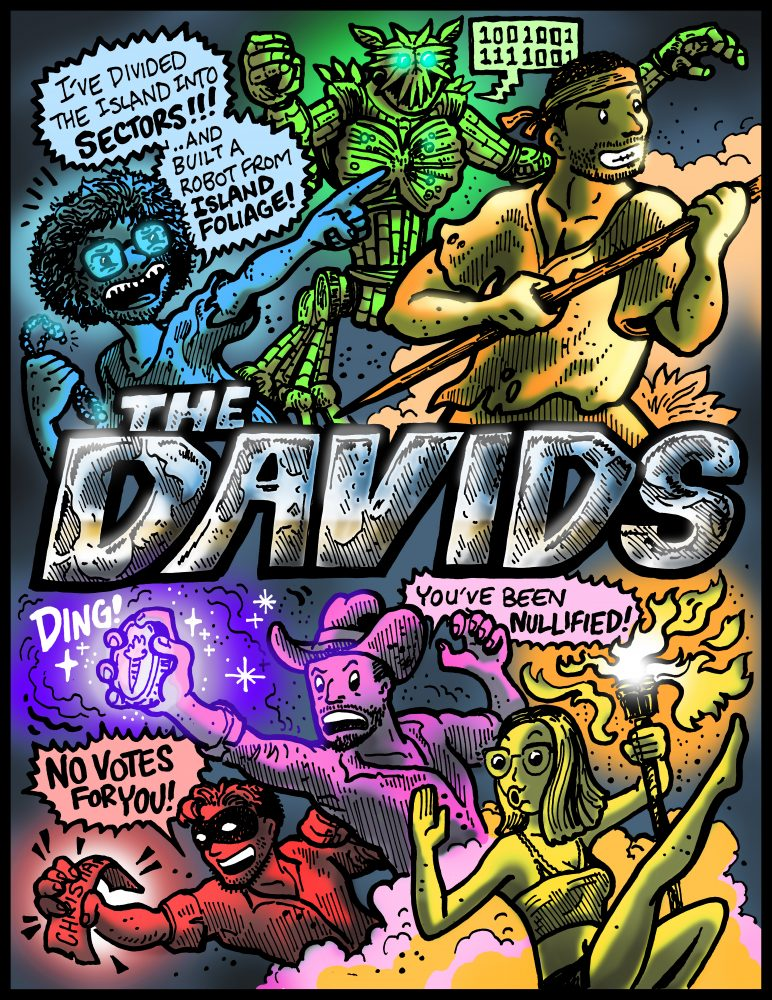 Dabu Doodles : Survivor Comic by Erik Reichenbach
