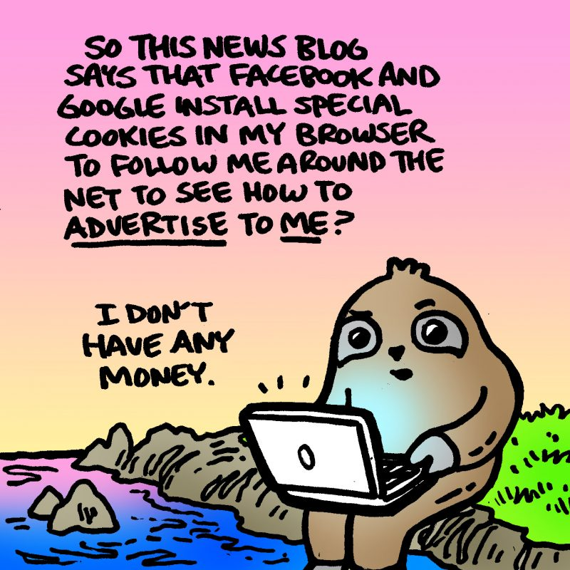 Dabu Doodles by Erik Reichenbach : Socially Responsible Sloth