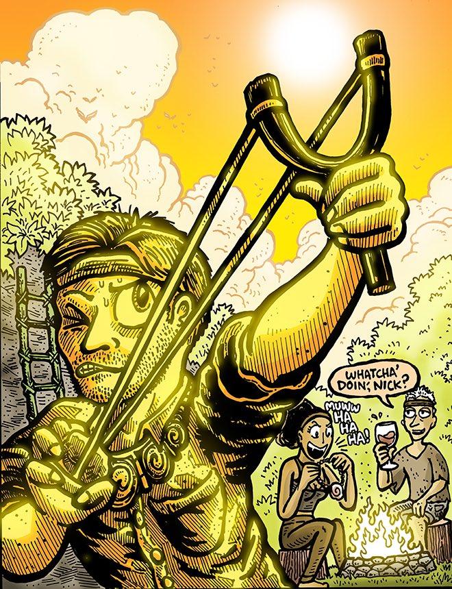 Dabu Doodles by Erik Reichenbach: Picking a Target