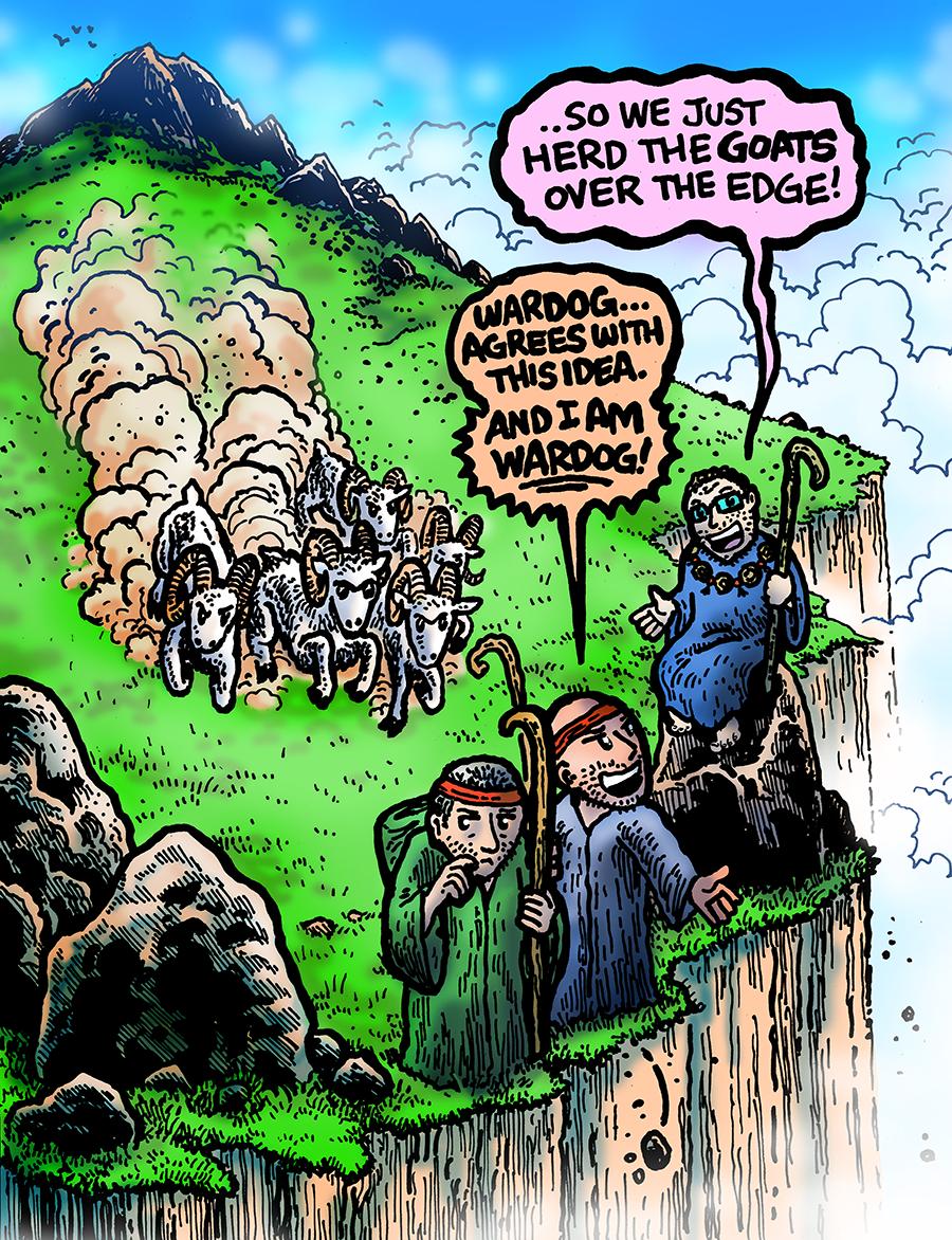 Dabu Doodles by Erik Reichenbach: Survivor Edge of Extinction Ep. 11