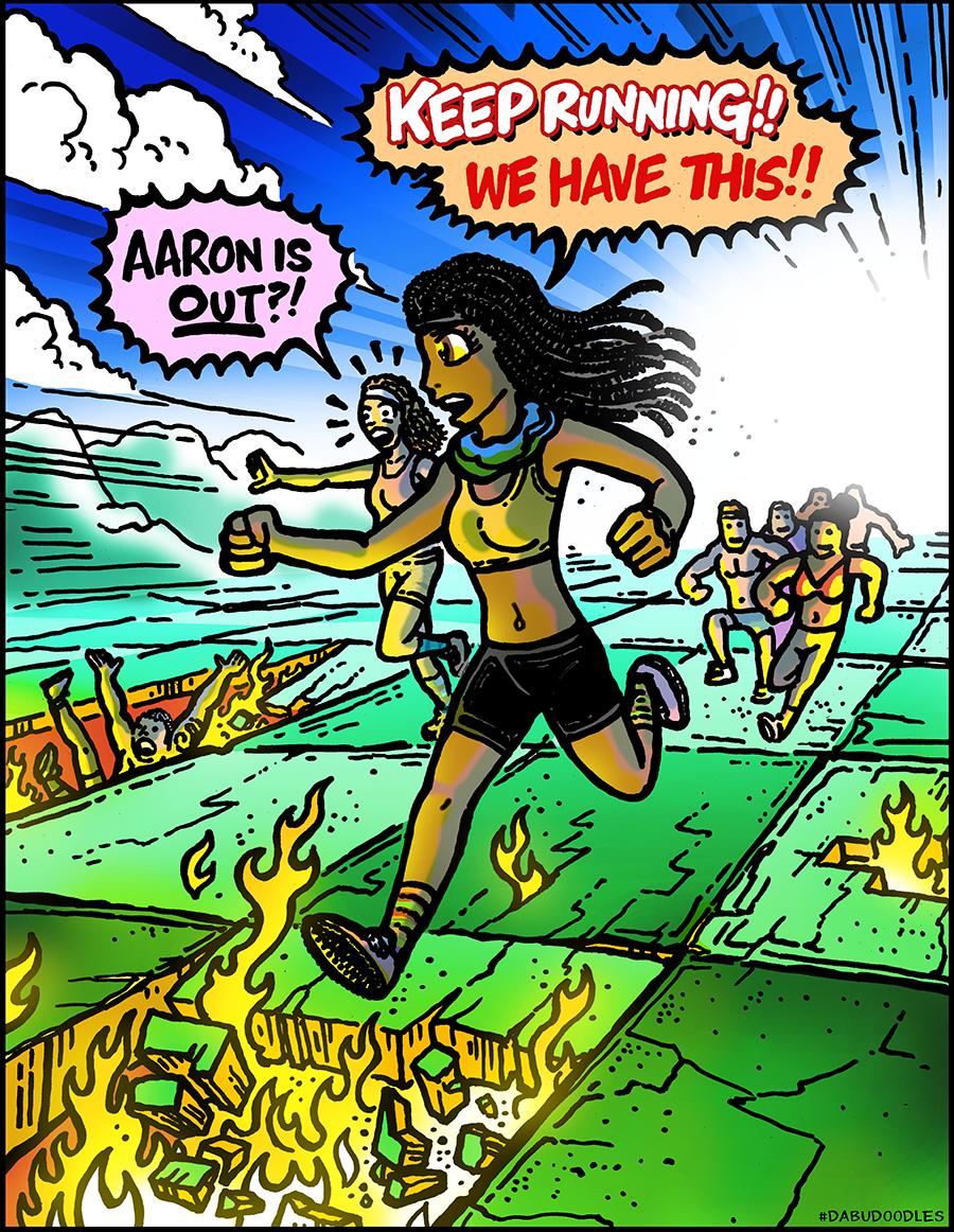Dabu Doodles by Erik Reichenbach: Survivor Island of the Idols