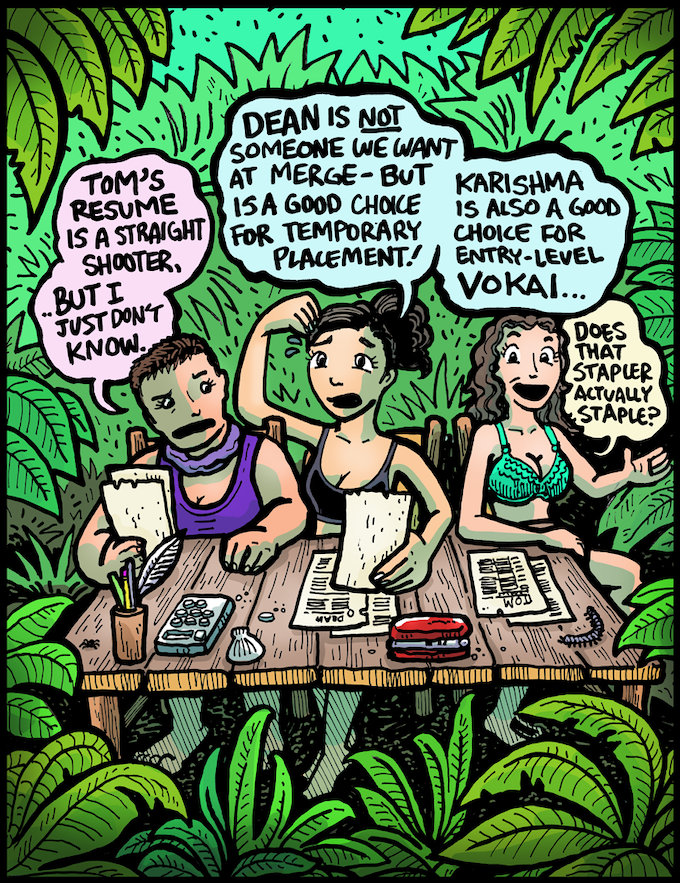 Dabu Doodles by Erik Reichenbach: Survivor Island of the Idols Ep. 2
