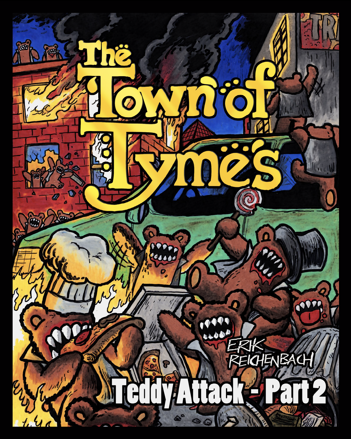 The Town of Tymes by Erik Reichenbach - Dabu Doodles