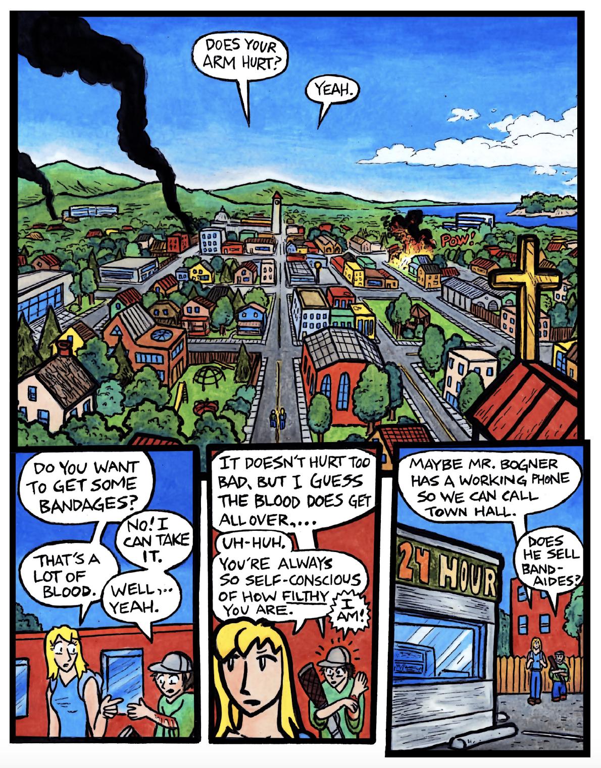 The Town of Tymes by Erik Reichenbach - Dabu Doodles