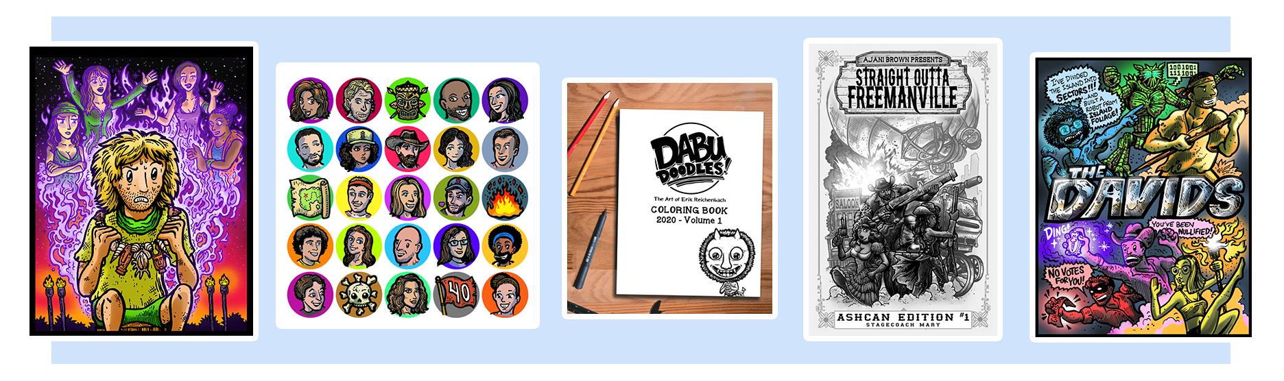 Dabu Doodles Print Shop