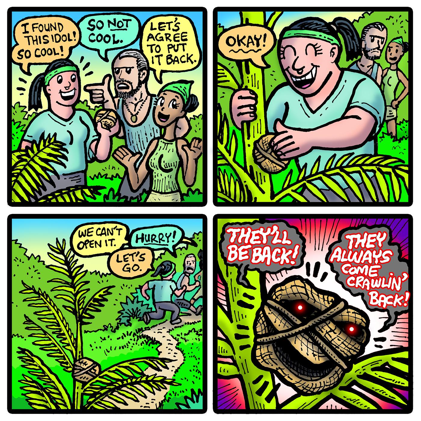 Survivor 41 Dabu Doodles